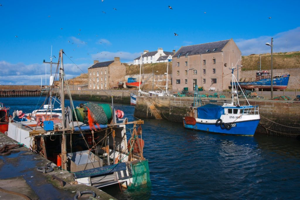 Burghead Harbour and Fort
