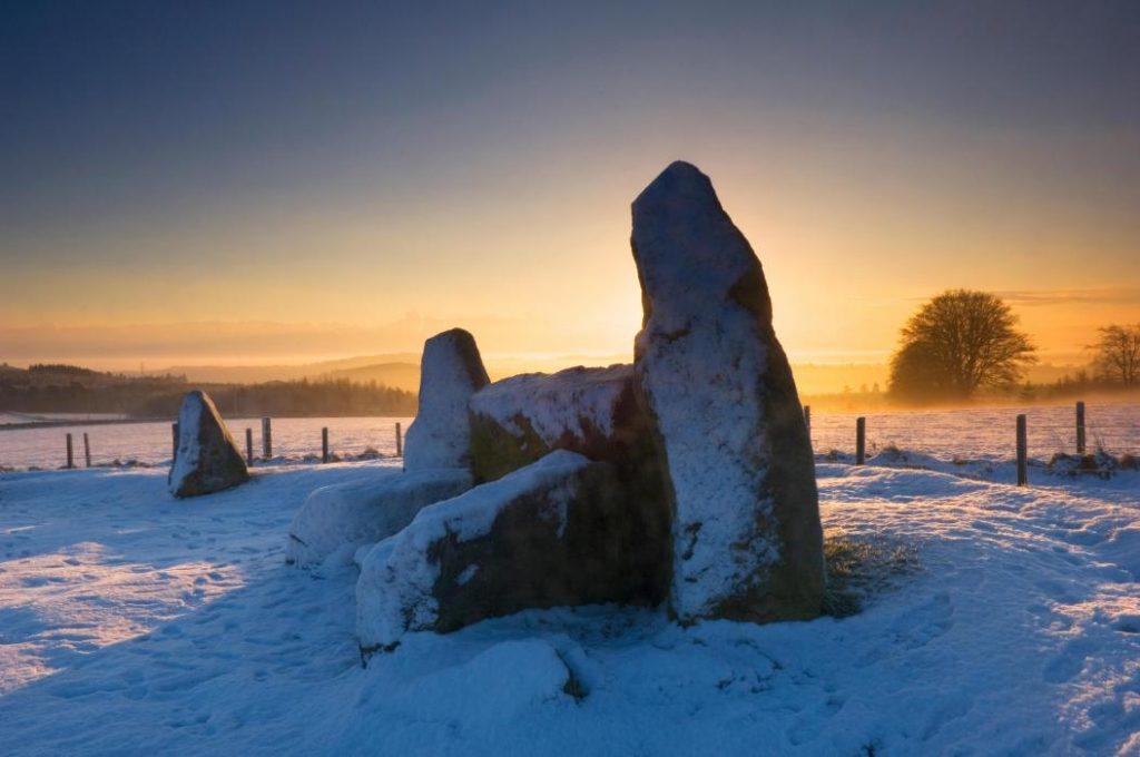 Easter Aquorthies Stone Circle